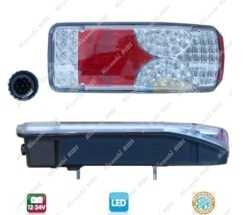 FANALE POSTERIORE LED SCANIA R  LED DX
